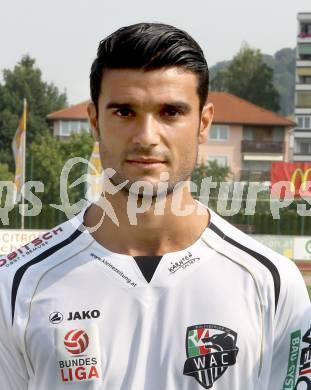 Fussball. Bundesliga. WAC. Mannschaftsfototermin. Portraits. Jose Antonio Solano Moreno. Wolfsberg - v120703p5paka52151m00s5ju0g